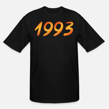Date Of Birth Year of birth 1993 Date of birth - Men's Tall T-Shirt