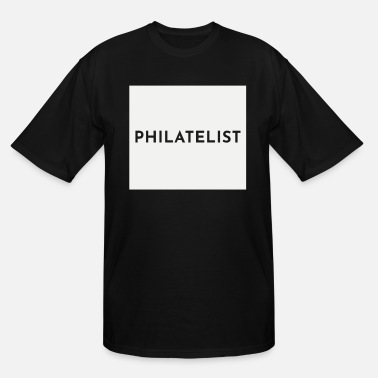 Stamp Stamp Collecting Collector Philatelist - Men's Tall T-Shirt