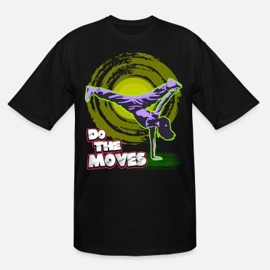 Break Dance Break Dance - Men's Tall T-Shirt