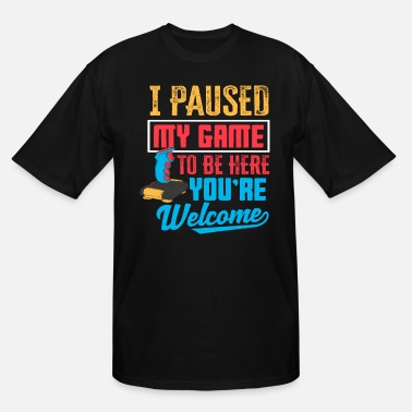Internet Gamer Break - Men's Tall T-Shirt