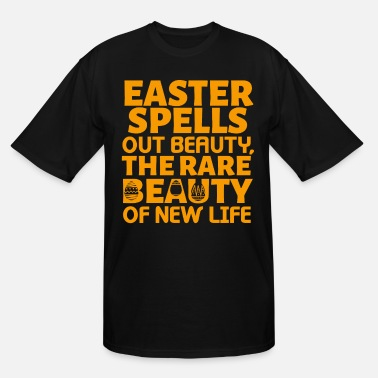 easter the beauty of new life gift idea - Men's Tall T-Shirt