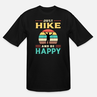 Outfit Hike Hiking Mountains Camping Nature Adventure - Men's Tall T-Shirt