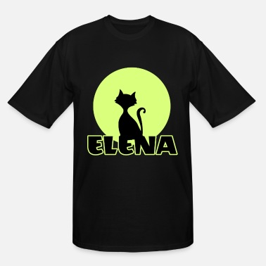 Name Day Elena Name day first name personal gift moonlight - Men's Tall T-Shirt
