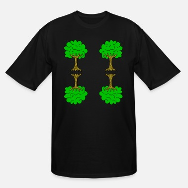 Linden Beautiful nature. Tree for environment and linden - Men's Tall T-Shirt
