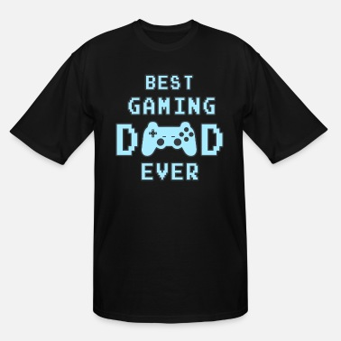 Best Best Gaming Dad Ever Father Father's Day console - Men's Tall T-Shirt