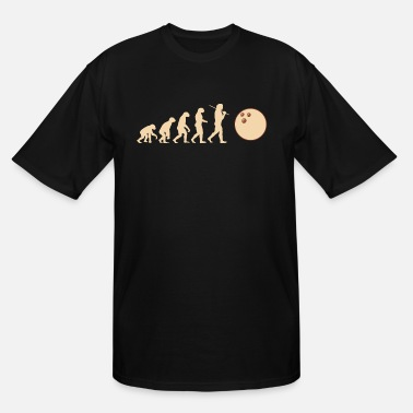 Bowling Ball Bowling Evolution Bowling Ball Bowling Ball ball - Men's Tall T-Shirt