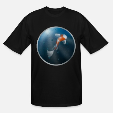 Under Water Fish Under Water - Men's Tall T-Shirt
