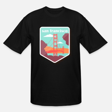 Gate travel francisco 26 F - Men's Tall T-Shirt