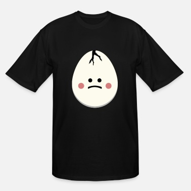 Egg Egg Sad Egg - Men's Tall T-Shirt
