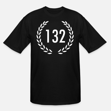 Age 132 one hundred thirty two - Men's Tall T-Shirt