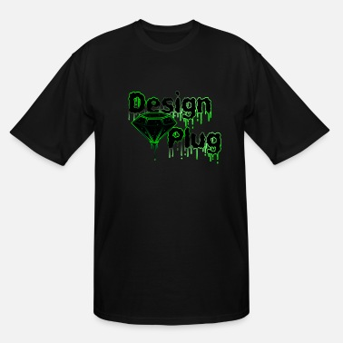 Neon Design Plug Co - Men's Tall T-Shirt