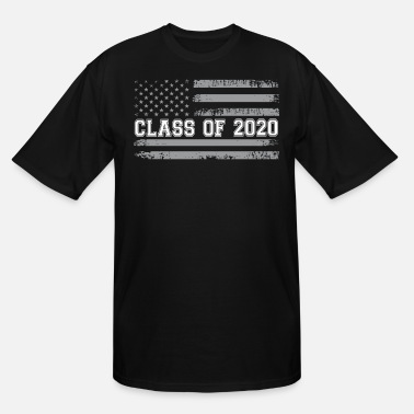 Graduation Party Vintage Class of 2020 - Men's Tall T-Shirt