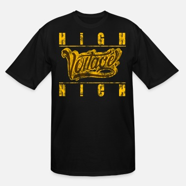 High Voltage high voltage - Men's Tall T-Shirt