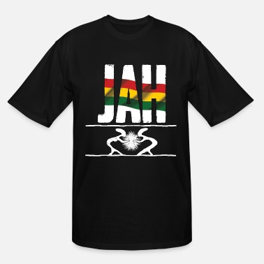 Rasta jah rastafari reggae love - Men's Tall T-Shirt