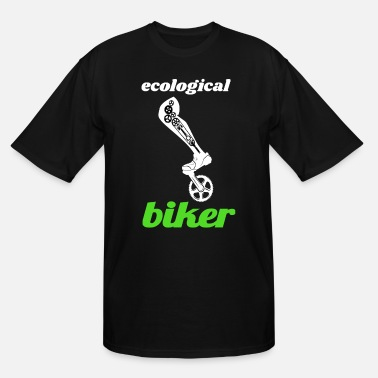 Ecology ecologically cyclist - Men's Tall T-Shirt