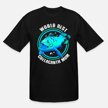 Fisherman Coelacanth - Men's Tall T-Shirt