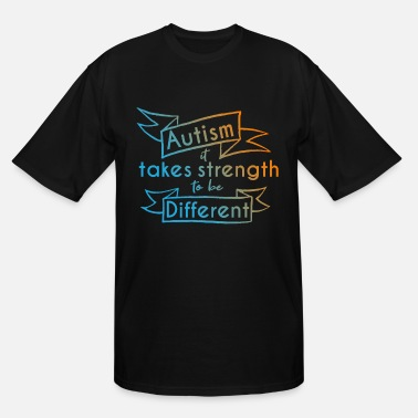 Puzzle Autism Awareness Day Asperger's Syndrome Parents - Men's Tall T-Shirt
