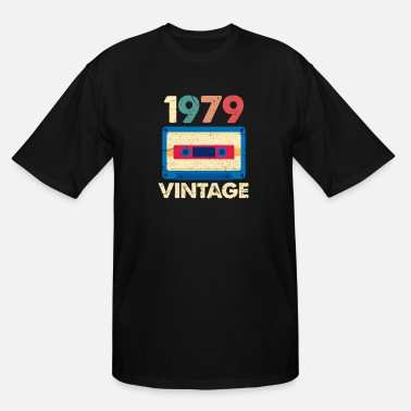Over 40 1979 Vintage - Men's Tall T-Shirt