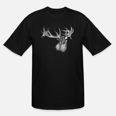 Hunting Deer - Men's Tall T-Shirt