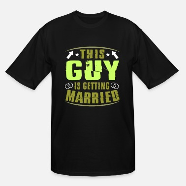 Stag Groom Wedding Marriage Stag night bachelor party - Men's Tall T-Shirt
