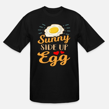 Meal Eggs Breakfast Meal Gift Idea - Men's Tall T-Shirt