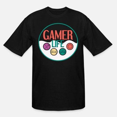 Gamer Life - Men's Tall T-Shirt