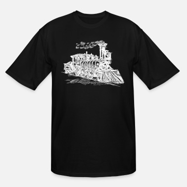 Train train - Men's Tall T-Shirt