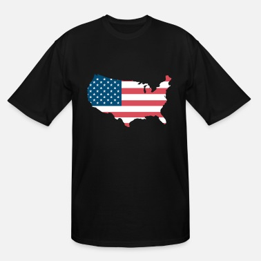 United States United States - Men's Tall T-Shirt