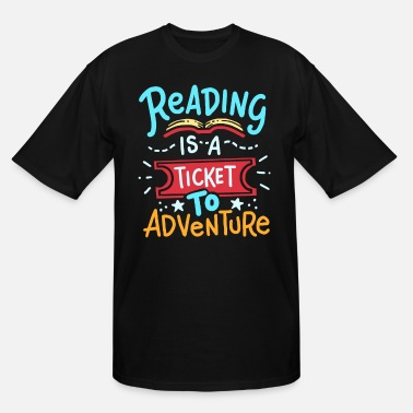 Read Reading Read - Men's Tall T-Shirt