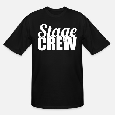 Stage Stage Crew - Men's Tall T-Shirt
