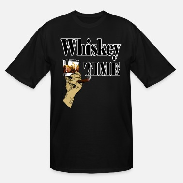 Whiskey Whiskey and cigar. Perfect gift for dad, brother - Men's Tall T-Shirt