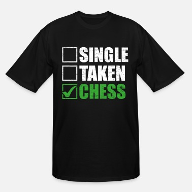 For Chess Chess - Men's Tall T-Shirt