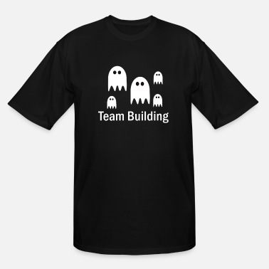 Building Halloween - Men's Tall T-Shirt