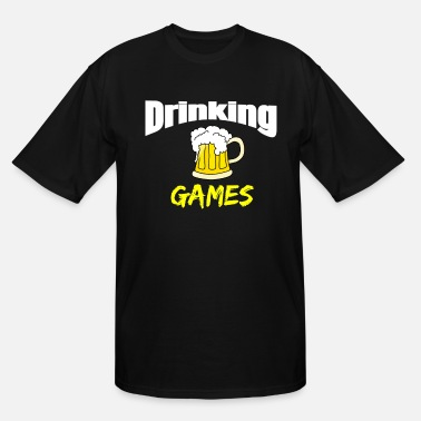 Drinking Game Drinking Games - Men's Tall T-Shirt