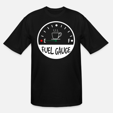 Coffeine Fuel Coffein - Men's Tall T-Shirt