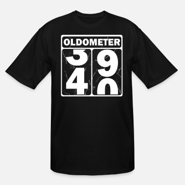 Present Oldometer - Men's Tall T-Shirt