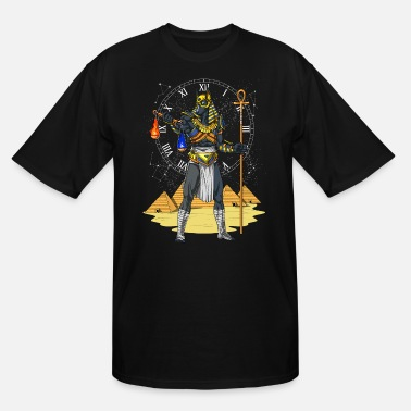 Egyptian Mythology Anubis Egyptian God Of The Afterlife Mythology - Men's Tall T-Shirt