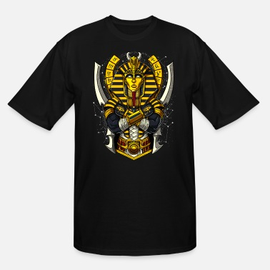Egypt Egyptian Pharaoh Tutankhamon Ancient Annunaki King - Men's Tall T-Shirt