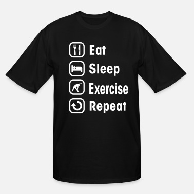 Exercise exercise - Men's Tall T-Shirt