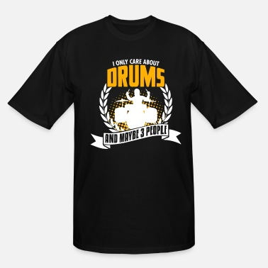 Tambores Funny Drums Tee Christmas Present - Men's Tall T-Shirt