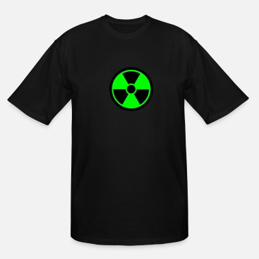 Symbol Radioactive symbol - Men's Tall T-Shirt