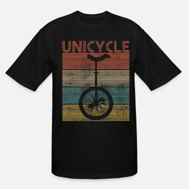 Unicycle Unicycling Bike - Men's Tall T-Shirt
