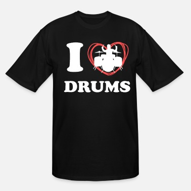 Tambores Drums Shirt For Women - Men's Tall T-Shirt