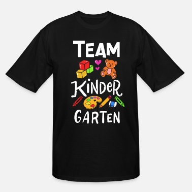 Building Kindergarten Teacher - Men's Tall T-Shirt