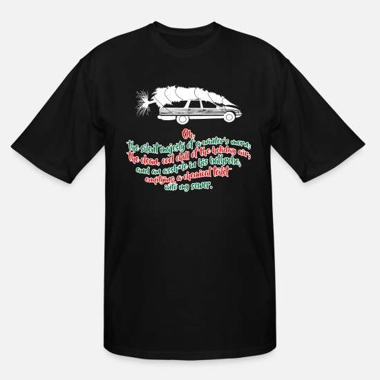 Christmas T-Shirts - Griswold Christmas Vacation - Men's Tall T-Shirt black