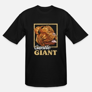 Gentle French Mastiff | Gentle Giant - Men's Tall T-Shirt