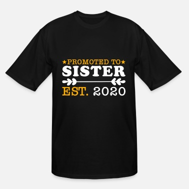 Established Promoted to Sister Established 2020 gift - Men's Tall T-Shirt