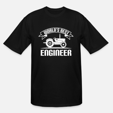Technology World´s best engineer - Men's Tall T-Shirt