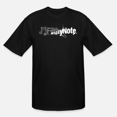 Note Clue filthy note - Men's Tall T-Shirt