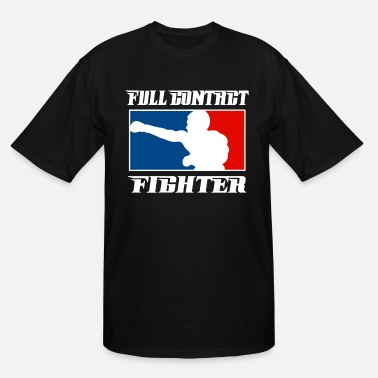 Contact MMA Full Contact - Men's Tall T-Shirt